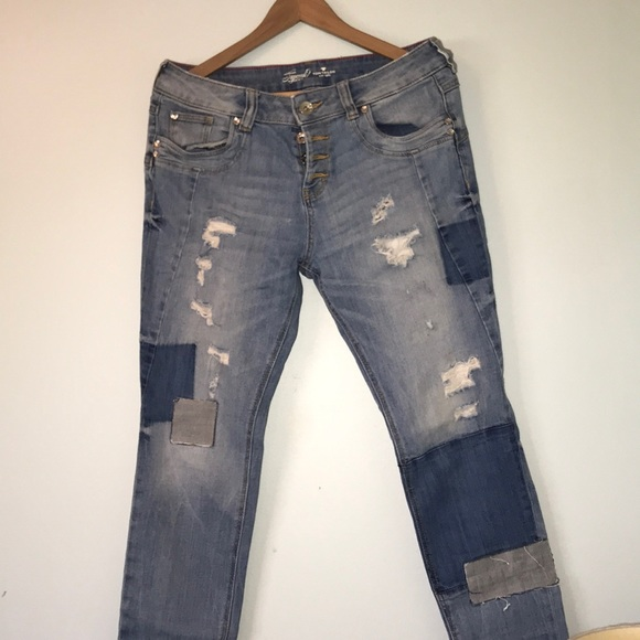 online store sale detailed images Tom Tailor tapered relaxed jeans R15